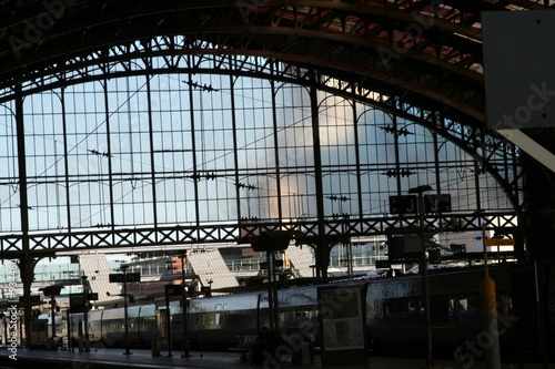 Fototapete Bahnhof - Wandtattoos - Fotoposter - Aufkleber