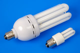 energy-saving fluorescent lamps poster