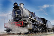 steam train at swakopmund, namibia
