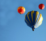 hot air balloon ride poster