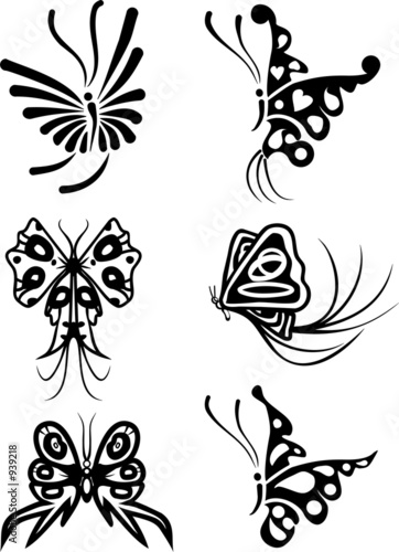 element for design, butterfly