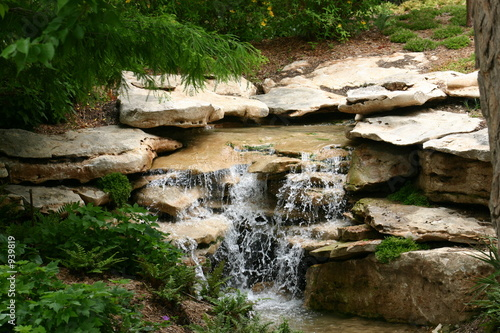stream and waterfall - 939819