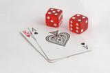 black jack and dice