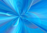 blue soft abstract. bow poster