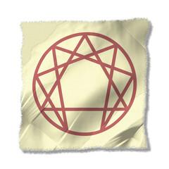 enneagram parchment