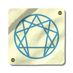 enneagram card