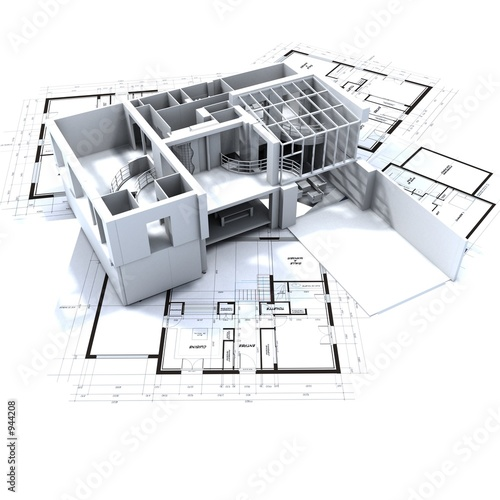 Poster appartement et plan