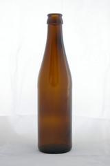 brown long-neck beer bottle