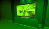 screen green plasma poster