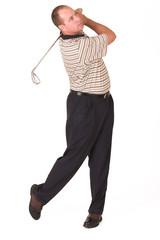 golfer iron #3