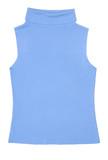 light blue female sleeveless shirt poster