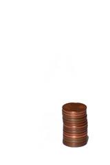 petit tas d'euro