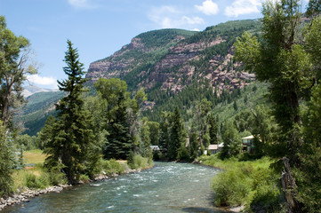 crystal river in redstone, colorado