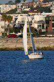 sailboat reaching poster