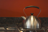 kettle (primitive  still life) poster
