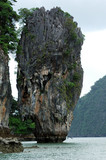 thailand, phuket: phan nga bay, james bond island poster
