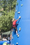 kid climbing 2 poster