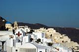 greek island village poster