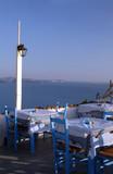 restaurant greek islands poster