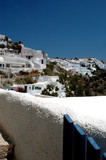 greek island scene poster