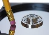 erasing from hard disc data poster
