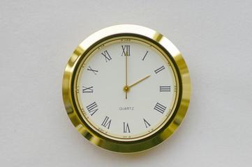 clock face - 2:00 / 14:00 (0200h / 1400h)