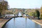 pont-canal de briare - yonne - 2005 poster