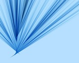 blue soft fibers poster