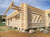log cabin under construction poster