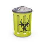 biohazard bin poster