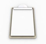 clipboard poster