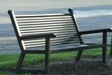 black park bench poster