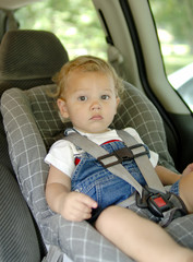 baby in car safety seat