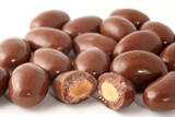 chocolate covered almonds poster
