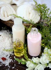 frascos de  aromaterapia
