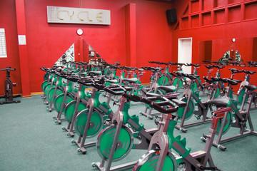 fitness spinning bike