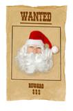 santa clause wanted poster