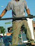 construction man poster