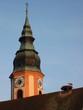 Leinwanddruck Bild - hochdorfer kirchturm