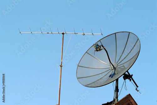 old and new antenna