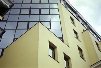 windows of a business centre