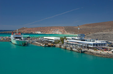 Pichilingue Harbour, La Paz, Baja California, Mexico