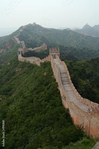 Fotobehang Chinese Muur great wall of china