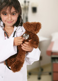 teddy bear check up poster