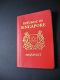 red singapore passport
