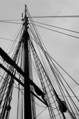 rig of sailing ship