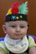 baby boy dressed up