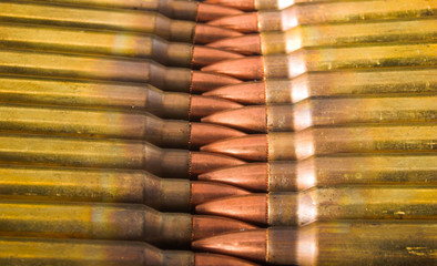 crossed cartridges