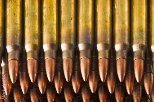 stacked rifle cartridges
