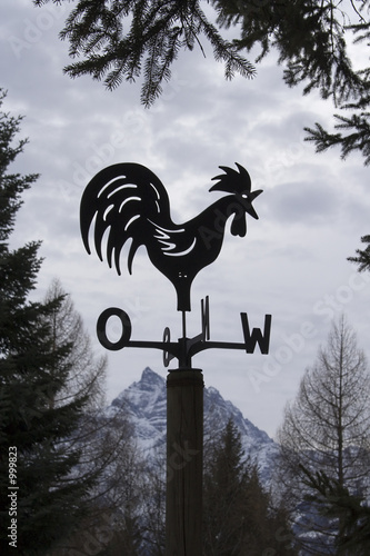 swiss weather cock